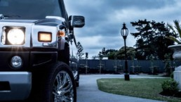 Hummer type limo hire